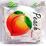 Peach Toffee Haoliyuan Chewy Milk Candy Thai Store Fruit Special Sweets Dessert