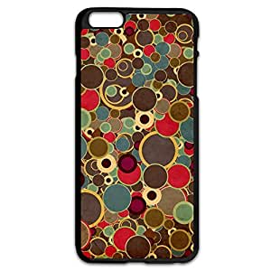 IPhone 6 Plus Cases Colorful Round Design Hard Back Cover Cases Desgined By RRG2G