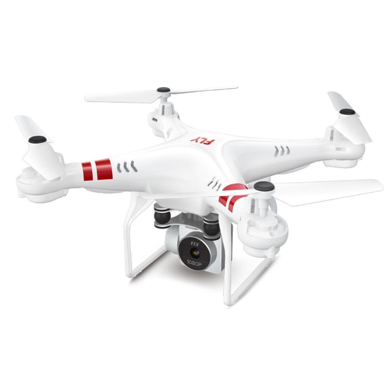 HARRYSTORE HD Antenne 2,4G Höhe Halten HD Kamera Quadcopter RC Drone Wifi FPV Live Hubschrauber Schwebeflug Ferngesteuertes Flugzeug (Weiß)
