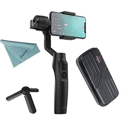 Moza Mini-MI 3-Axis Smartphone Gimbal Stabilizer with Wireless Phone  Charging Multiple Subjects 0fdb59b992