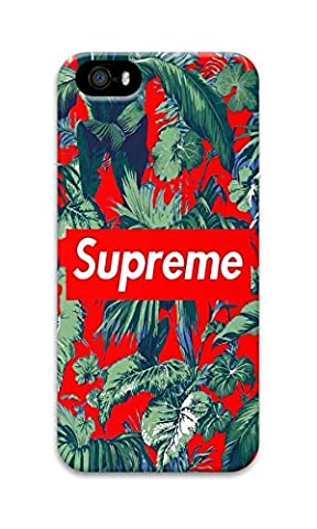 DDOLAA For Apple iPhone SE/iPhone 5/5S Case Supreme Special Design Green Leaves [Shock Absorption Protection] PC Hard Case For iPhone SE/iPhone 5/5S Cove (5s Cases Special)