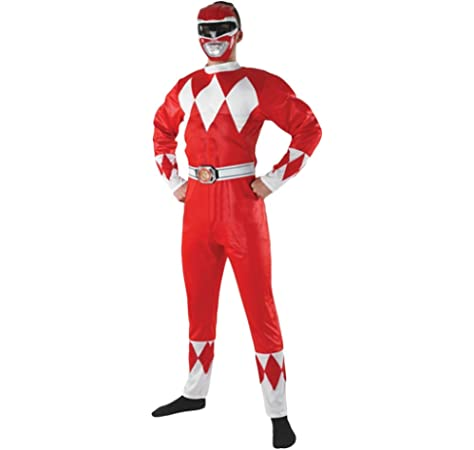FYBR Disfraz de Power Ranger SuperSkin para adulto, unisex, para ...