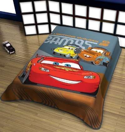 Disney Pixar Cars Blanket Team 95 Plush Oversized Throw 59in X 78in