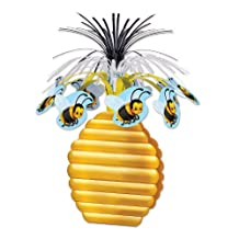 Beistle 54601 Bumblebee Centerpiece, 15-Inch