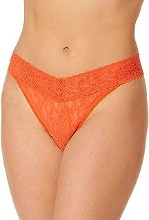 product image for Hanky Panky Signature Lace Original Rise Thong, One Size, Satsuma