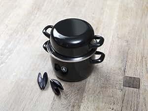 Laguiole L'Eclair Shellfisch Pot with Gripper Tongs, Luxey