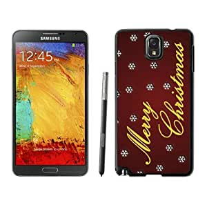 linJUN FENGProvide Personalized Customized Merry Christmas Black Samsung Galaxy Note 3 Case 94