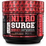 NITROSURGE SHRED Pre Workout Fat Burner Supplement - 30...