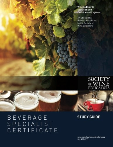 Beverage Specialist Certificate Study Guide by CreateSpace Independent Publishing Platform