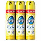 Pledge Lemon Clean Furniture Polish, 3 pk./14.2 oz. (pack of 6)