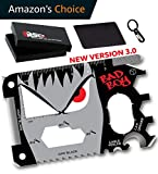 Bad Boy 23 in 1 Wallet Multitool Card Gift Set - Durable - Easy to Use - Portable Credit Card Tool - The Best Birthday & Anniversary Gift for Men