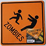 Halloween Novelty Decorative Two-sided Sign - Zombies/Witch and Devil