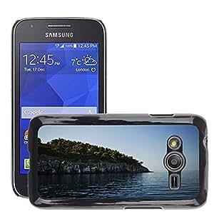 Cas Coq Case Cover // M00421505 Acantilado Roca Mar Océano Agua // Samsung Galaxy Ace4 / Galaxy Ace 4 LTE / SM-G313F