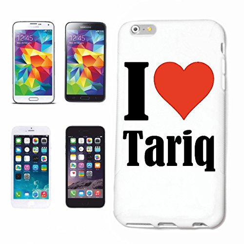 "Handyhülle iPhone 4 / 4S ""I Love Tariq"" Hardcase Schutzhülle Handycover Smart Cover für Apple iPhone … in Weiß … Schlank und schön, das ist unser HardCase. Das Case wird mit einem Klick auf deinem Sma"