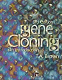 Gene Cloning, Brown, Terry A., 0412622408