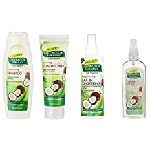Palmer's Coconut Oil Formula Strong Roots Spray 150ml, Palmer's Coconut Oil Formula Repairing Conditioner 250ml, Palmer's Coconut Oil Formula Shampoo 400ml and Palmer's Coconut Oil Formula Leave In Conditioner 250ml by Palmers