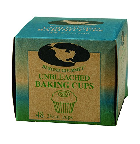 Beyond Gourmet Unbleached Non-Stick Baking Cups, 48 Count