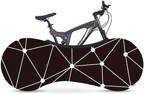 DFKDGL Cubierta de Bicicleta, Cubierta Universal de Bicicleta, Cubierta de neumático de Bicicleta de Carretera, Calcetines, Cubierta elástica práctica a Prueba de Polvo para Bicicleta de neumáticos: Amazon.es: Deportes y aire libre