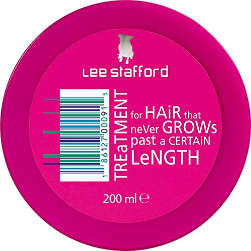 Lee Stafford Hair Lengthening Treatment With Pro Growth Complex 200ml Pack Qty 2