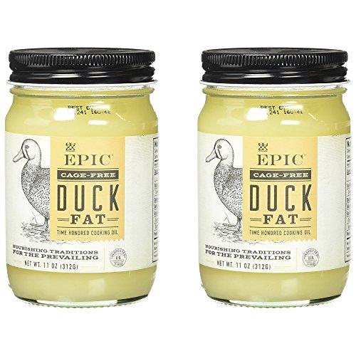 Epic Animal Fats, Duck Fat, 11 oz. (2 - Rougie Fat Duck
