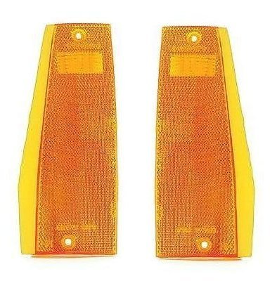 (84 - 96 Jeep Cherokee Front Side Marker Pair Set Driver and Passenger)