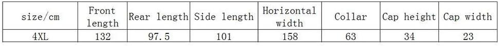 GFF Poncho Impermeabile per Monopattino Elettrico per Uomo e Donna con Strisce Riflettenti (Taglia: 4XL (Colore: C) F W8VXW