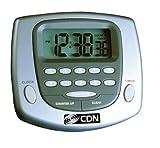 alarm clock direct entry - CDN TM23-S Big-Digit Digital Timer/Clock