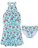 BAOHULU Toddler Girls Swimsuit One Piece Cute