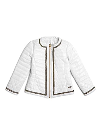Guess Veste Capitonnée avec bordure Dorée  Amazon.co.uk  Clothing 843bee48362