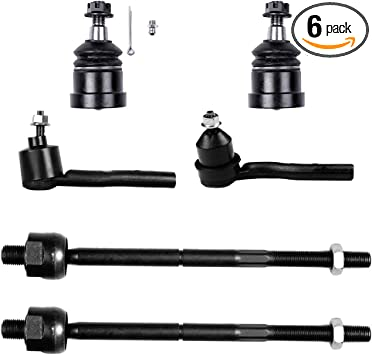 Front Lower Suspension Ball Joint fits 2007 Cadillac CTS Set of 2