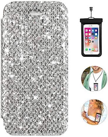 手帳型 Samsung Galaxy S10 ケース アイフォン 本革 レザーケース 財布型 カード収納 マグネット式 スマホケース スマートフォンケース サムスン ギャラクシーS10 [無料付防水ポーチ水泳など適用]