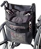 EZ-ACCESS Accessories, Wheelchair Back Carryon (2.25 lbs), Storage Tote for Back of Wheelchair, Keeps Items At Hand with Secure Main Compartment & Mesh Outer Pocket, Fits Most Wheelchairs