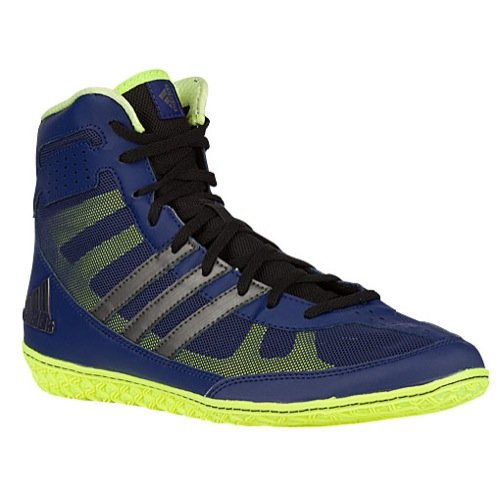 adidas Men's Mat Wizard.3 Wrestling Shoes, Power Red/Black/White, 4 M US