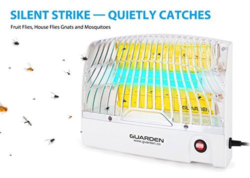 Guarden 2018 Edition Electro Strike Bug Killer, Fly Trap Indoor - Enjoy a Fly Free Summer this Year...