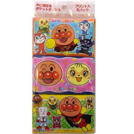 (Anpanman Pocket Tissue Mini Size 6P [110395])