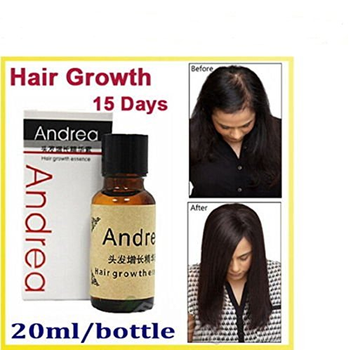 Andrea Hair Loss Serum Product for Unisex, Men, Women Thickening, 20ml. (Pack of 1)