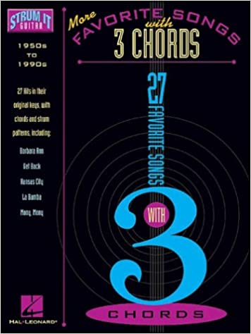 More Favorite Songs with 3 Chords: Hal Leonard Corp.: 9780634049934 ...