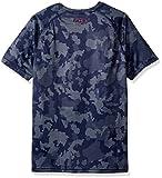 Under Armour Boys Big Logo Printed T-Shirt,Vapor