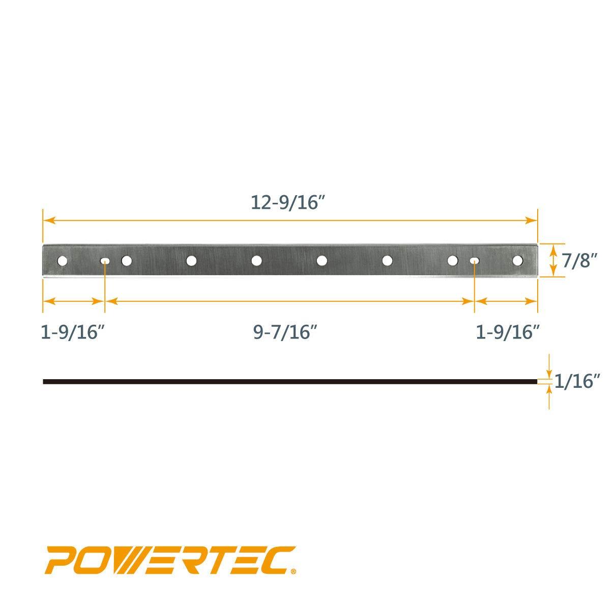 Amazon.com: Powertec 128010 12 – 1/2 Pulgadas HSS ...