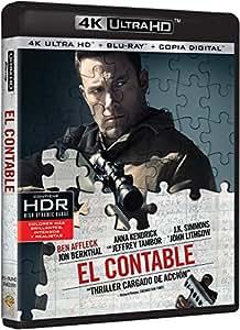El Contable 4K Ultra HD [Blu-ray]