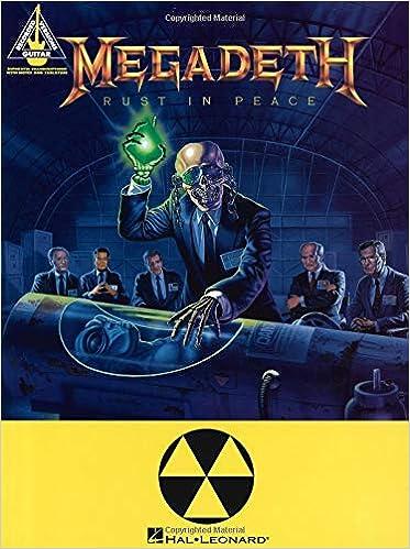 Megadeth Rust In Peace Megadeth 9780793536658 Books