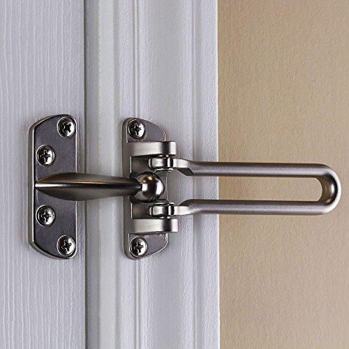 Satin Nickel Door Security Guard
