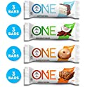12 Pack One 2.12 oz Protein Bar Variety Pack