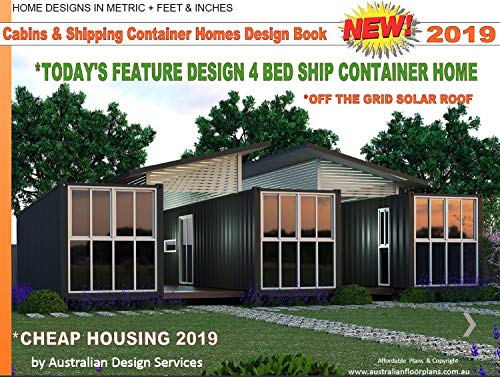 Small Houses Cabins Shipping Container Homes Design Book