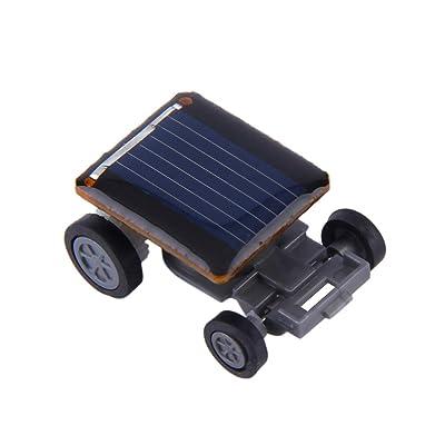 AAGOOD Coche Solar simulada 1 packCreative simulación Solar Vehículo impulsado Mini Fak: Juguetes y juegos