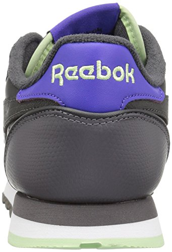 Reebok Women's CL Lthr Eb Fashion Sneaker Black/Coal/Ash Grey/Ultima buy cheap amazing price brand new unisex online cheap sale the cheapest discount collections XrONFqbG9