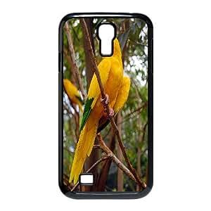 Unique Phone Case Design 7Funny Parrot,Cute Bird- For SamSung Galaxy S4 Case
