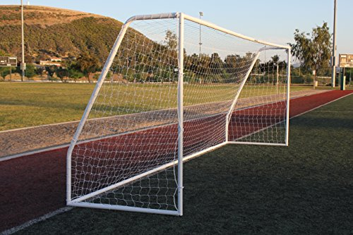 G3Elite Pro 18½ x 6½ Regulation Junior Youth Soccer Goal (Discounted Less Than Perfect Item), (1) Net, Strongest Portable Steel Post Design w/Patented Corrosion Resistant Coating, 6.5 x 18.5, 18x6 by G3Elite