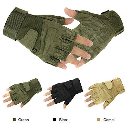 Muyankissu Military Half-finger Fingerless Tactical Airsoft...