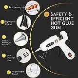 Hot Glue Gun with Glue Sticks-360° Full Tube Rapid